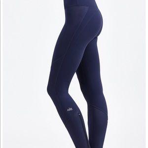Alo yoga navy leggings